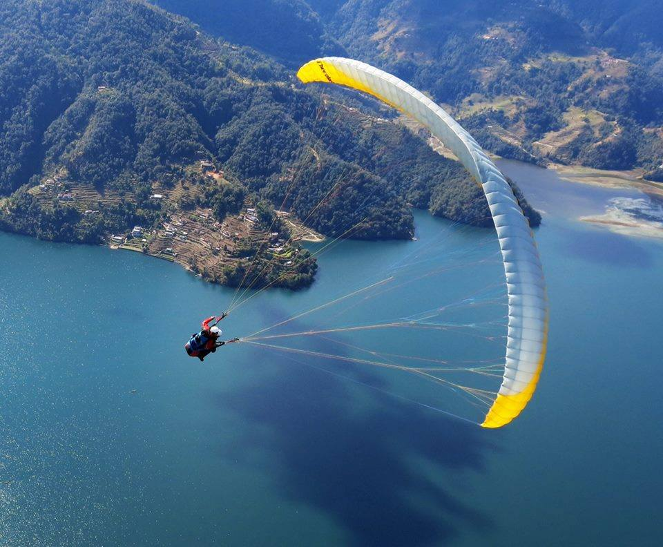 Paragliding In Pokhara – 1 Day